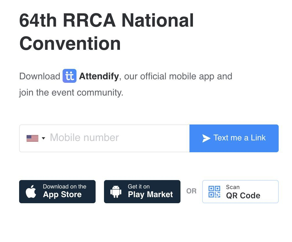 Convention App Download